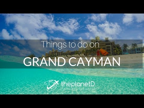 Cayman Islands Travel Vlogs - 11 Things to do on Grand Cayman | The Planet D