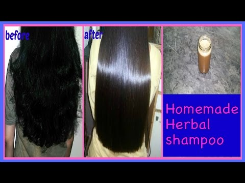 Get Long Shiny & Voluminous Hair (Indian Hair Growth Secrets) DIY Herbal Shampoo