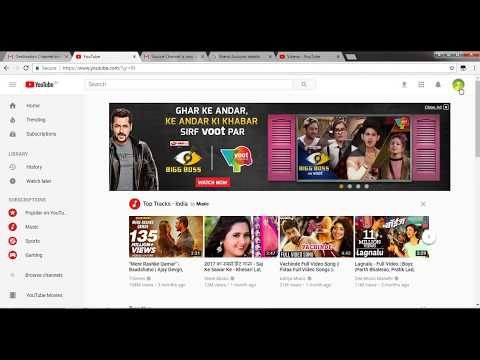 How to move your YouTube Channel from one gmail account to another gmail account..