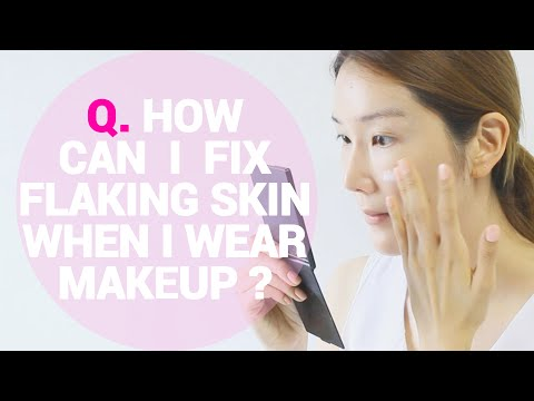 How Can I Fix My Flaking and Peeling Skin When I Wear Makeup? | Wishtrend