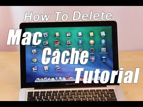 How To Delete Cache On Mac Computer Tutorial | Erase Cache Off Macintosh