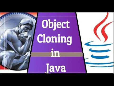 Object cloning in java| shallow copy and deep copy | Java interview questions on cloning