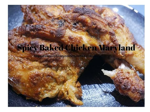 Spicy Baked Chicken Maryland