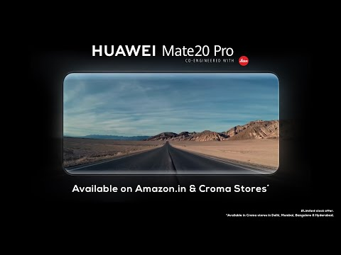 HUAWEI Mate20 Pro is here