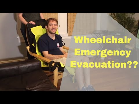 How Do People in Wheelchairs Evacuate Airplanes? | ADAPTS Evacuation Sling Review
