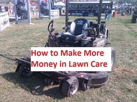 39 Tips to Make More Money in the Lawn Business