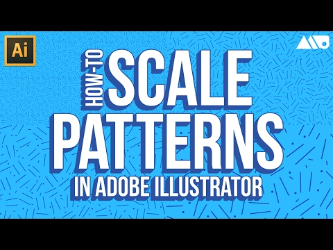 How to Scale Patterns in Adobe Illustrator Tutorial