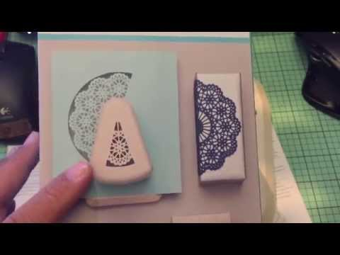 Demo of the Martha Stewart Doily and Snowflake Punches