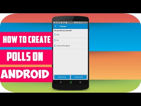 How to create a Poll on Android |TECHSAYYER