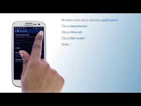 Lycamobile Italia - Configura internet su Samsung