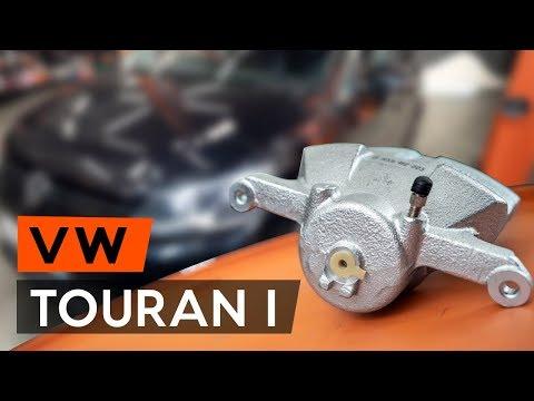 How to replacefront brake caliperonVW TOURAN 1 (1T3) [TUTORIAL AUTODOC]