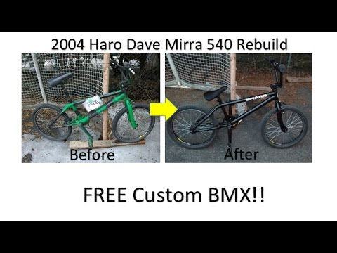 Haro Dave Mirra BMX Custom Rebuild