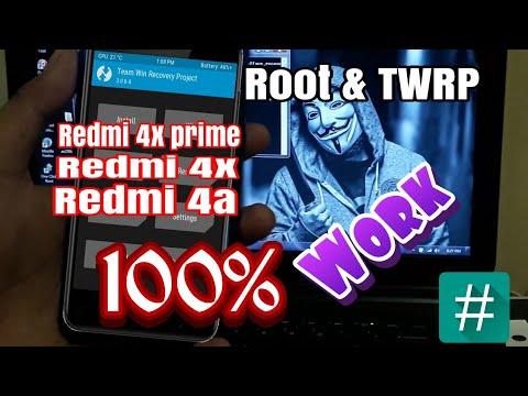 CARA ROOT & TWRP XIAOMI REDMI 4X PRIME