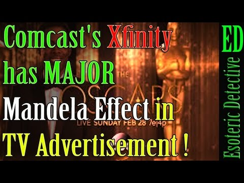 Mandela Effect | Comcast's Xfinity has MAJOR Mandela Effect in TV Advertisement | #Mandela Effect