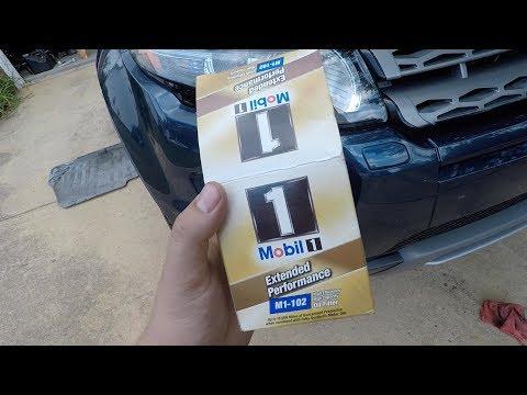 Range Rover Evoque Engine Oil Change Tutorial
