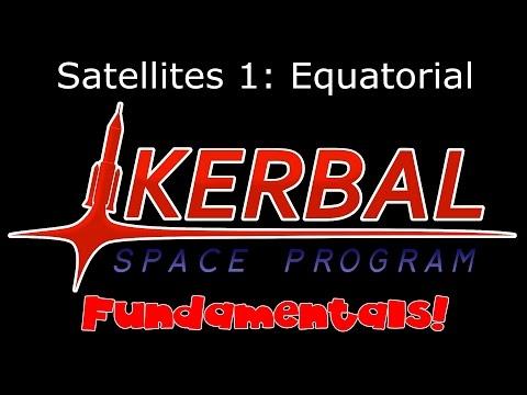 KSP Fundamentals - Satellite Contracts 1: Equatorial Orbits