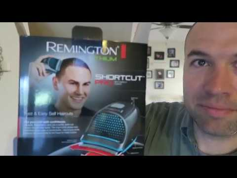 Unboxing of Remington HC4250 Shortcut Pro for Receding Hairline Buzz Cuts