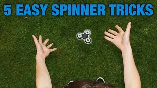 Download 5 EASY FIDGET SPINNER TRICKS FOR BEGINNERS (TOP 5) Video