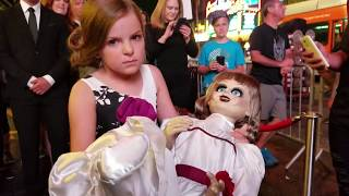 Annabelle Creation Hollywood Movie Premiere with actress Samara Lee 01