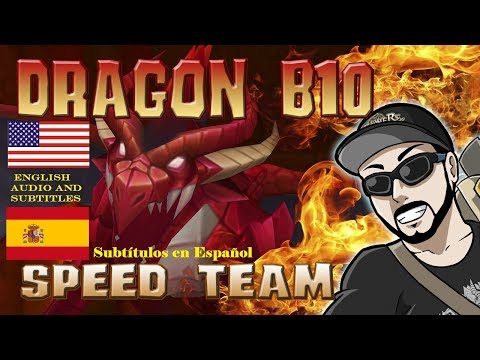 Dragon B10 Speed Team / Easy to Build and Safe ! Summoners War