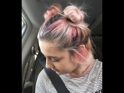 How to do Space Buns on Short Hair