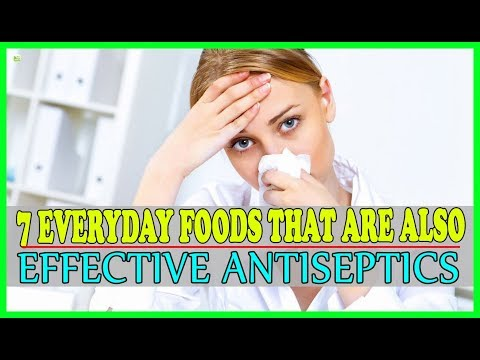 7 Everyday Foods That Are Also Effective Antiseptics - Natural Healing | Best Home Remedies