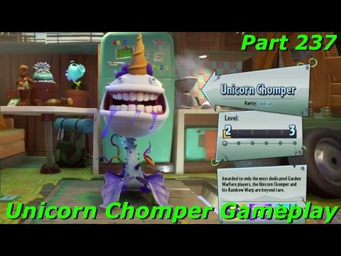 PVZ Garden Warfare 2 - Unicorn Chomper Gameplay On Garden Ops With Subscribers - Part 237