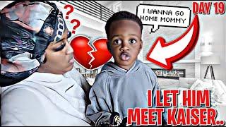 I LET HIM MEET KAISER & THIS HAPPENED... |VLOGTOBER DAY 19