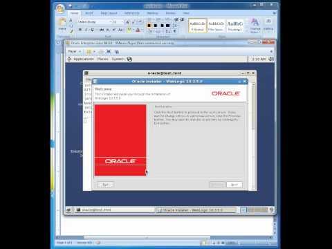 Installing Weblogic Server 10.3.5 on Oracle Enterprise Linux 5.4