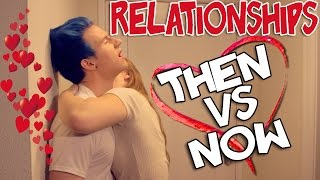 "relationships: then vs now. please thumbs up!  PREVIOUS VIDEO: https://www.youtube.com/watch?v=O22x63aBZHg subscribe & follow alexa: https://twitter.com/alexalosey https://www.youtube.com/alexa  get my new EP ""RPD"" on iTunes here: http://smarturl.it/RPD-EP  WATCH MY MUSIC VIDEO TO ""THUNDER AND ""LIGHTNING"": https://www.youtube.com/watch?v=ZaajVAsoWDw WATCH MY MUSIC VIDEO TO ""IGNITE"": https://www.youtube.com/watch?v=afPNRjBuAss watch my music video to ""live it up"": https://www.youtube.com/watch?v=gCAQgwkeFJs  snapchat: ricky.dillon follow me on twitter: https://twitter.com/RickyPDillon follow me on instagram: http://instagram.com/RickyDillon merch: http://www.districtlines.com/RickyDillon tumblr: http://rickydillon.tumblr.com facebook: https://www.facebook.com/RickyPDillon vine: https://vine.co/RickyDillon  vlogs: http://www.youtube.com/RickyDVlogs  For Business Inquires Contact me at: andrew@bigfra.me  outro music: ""stars"" by me  song used at dancing part: ""echo"" by trevor moran  credit to one direction and ed sheeran for the lyrics we used in the video ""what makes you beautiful"" ""little things"" ""thinking out loud""  thanks for watching! please give this video a thumbs up, leave a comment and add to your favorites! please share this video with your friends, family, and animals it really helps me out! =]  i make videos every sunday on this channel, please subscribe to me if you"