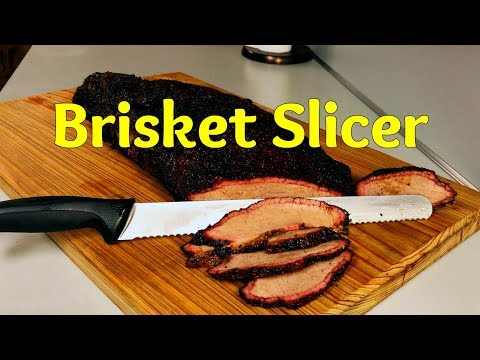 How to reheat brisket and a brisket Slicer Recommendation