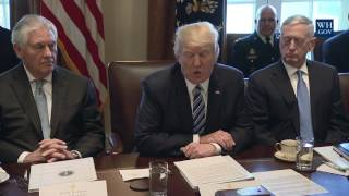 President Trump Meets With His Cabinet