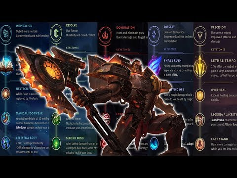 DARIUS ON EVERY RUNE PAGE! 908 HP AT LEVEL 1 RAIDBOSS DARIUS! LETHAL TEMPO DARIUS! PHASERUSH DARIUS!