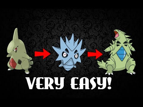 Pokemon HeartGold & SoulSilver - How to get Tyranitar!