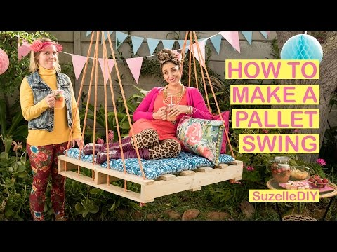 How to make a Pallet Swing