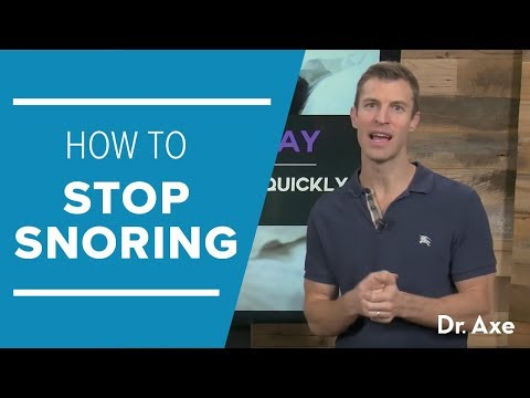 How To Stop Snoring Naturally & Quickly (11 Tricks!)