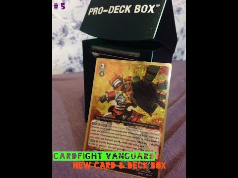 CardFight Vanguard | New Card & Deck Box (5)