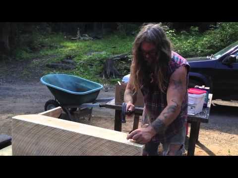 Making Farm Benches
