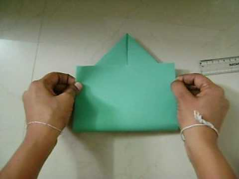 how to make envelope in an easy way/home activity for children