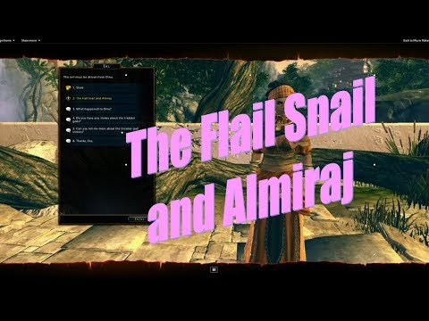 Neverwinter The Flail Snail and Almiraj Lost City of OMU 2018