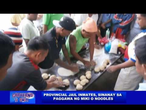 Paggawa ng  miki, itinuro sa CPJ inmates (02/05/14)