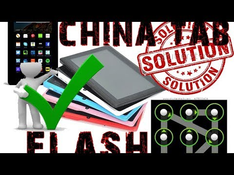 How to find China tablet firmware / flash file (2017)