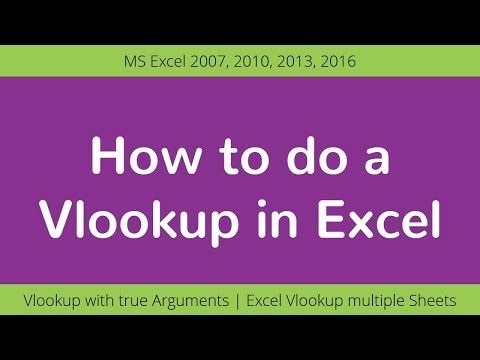 How to do a Vlookup with True in Excel | Excel Formulas