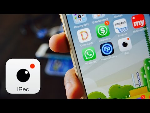 Install iRec Screen Recorder For iOS 8.4 - 8.3 - 8.2 - 8 FREE NO JAILBREAK All iDevices (July 2015)