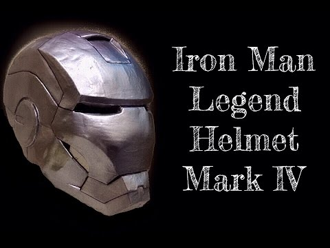 How To Make Iron Man  BLEEDING EDGE Helmet