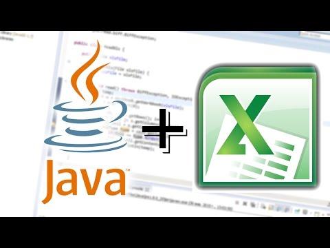 Работа с Excel в Java (JExcel API)