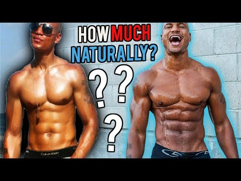 🤔 How Much Muscle Can You Build NATURALLY?