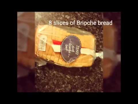 Brioche Bread & Peanut Butter Pudding