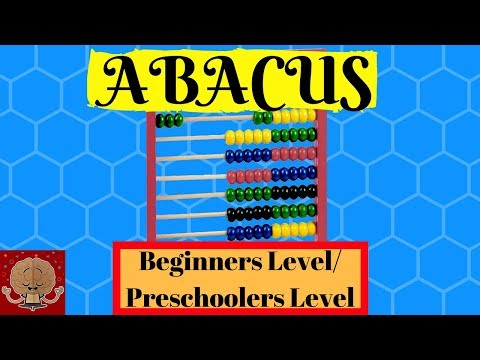 ABACUS/ How to use an Abacus/ Abacus for Beginners/Preschoolers