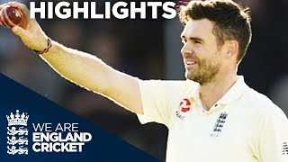 Anderson Takes 500th Test Wicket - England v West Indies 3rd Test Day 2 2017